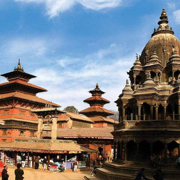 Nepál templom